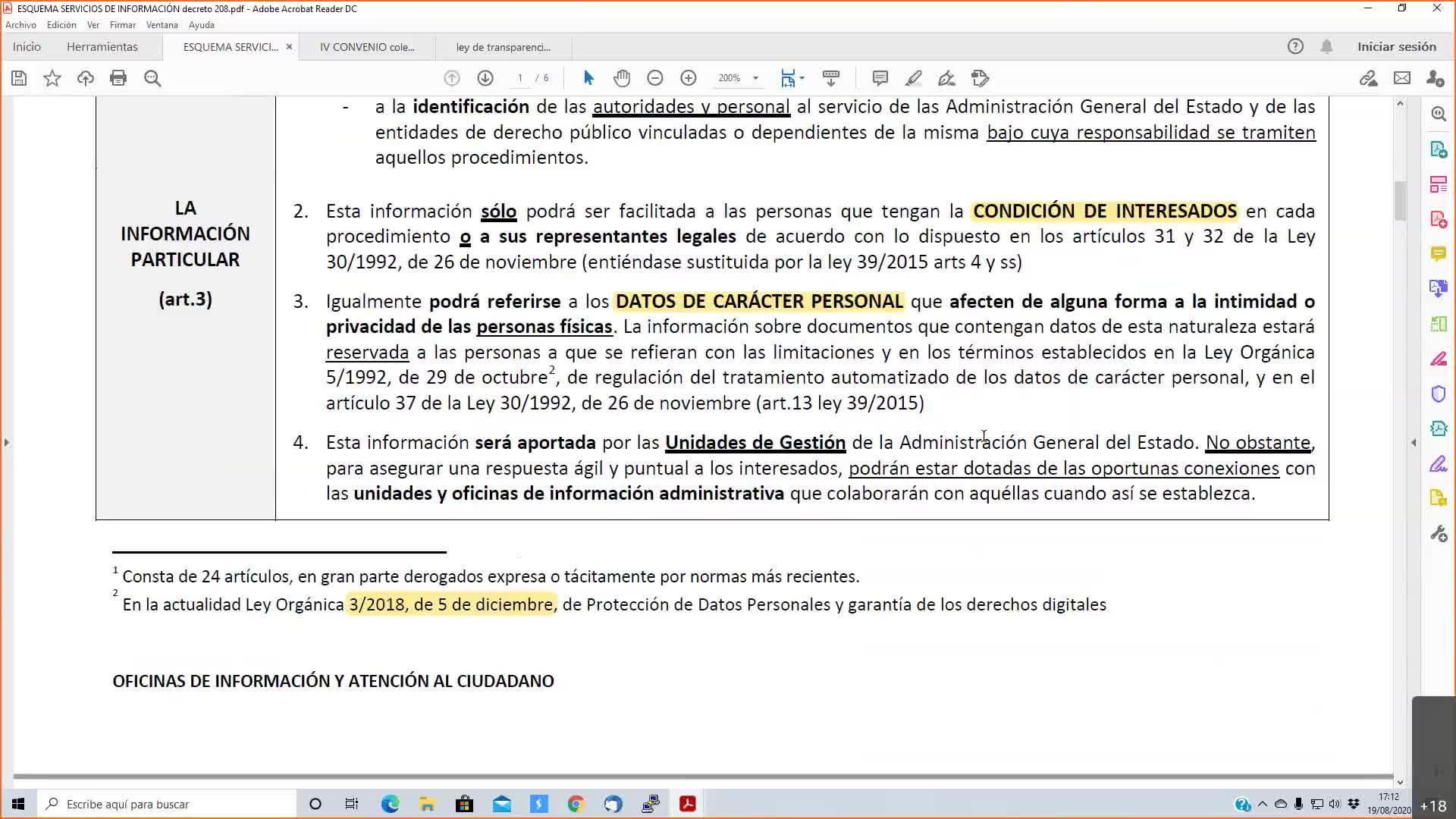 OFICINAS PUBLICAS 19-08-2020