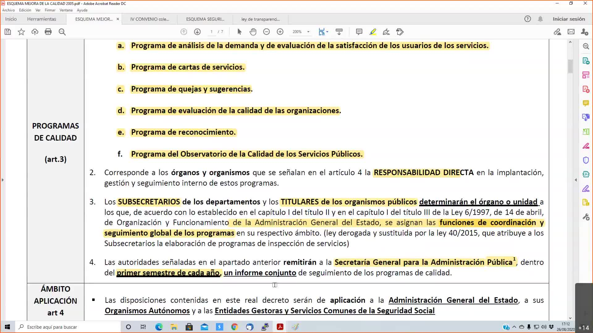 Oficinas públicas 26-08-2020