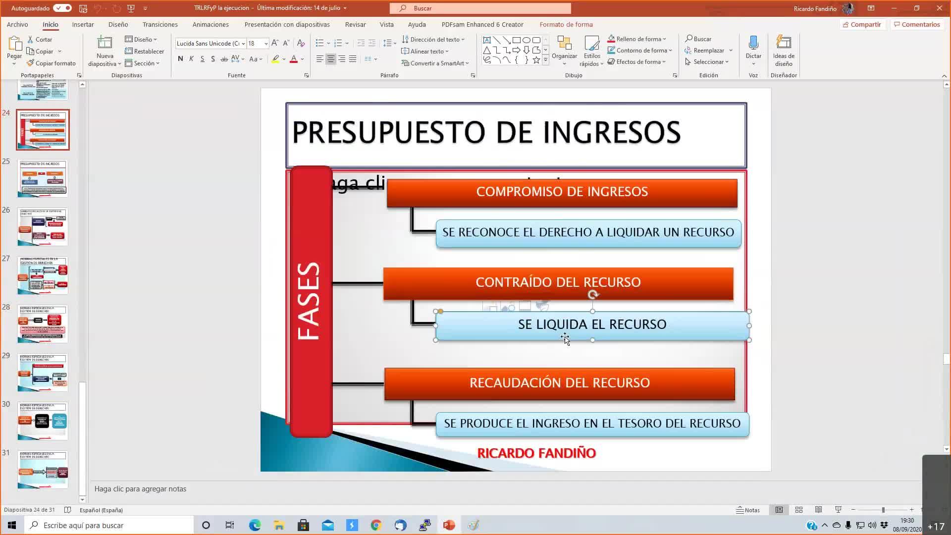 Presupuestaria Xunta 08-09-2020