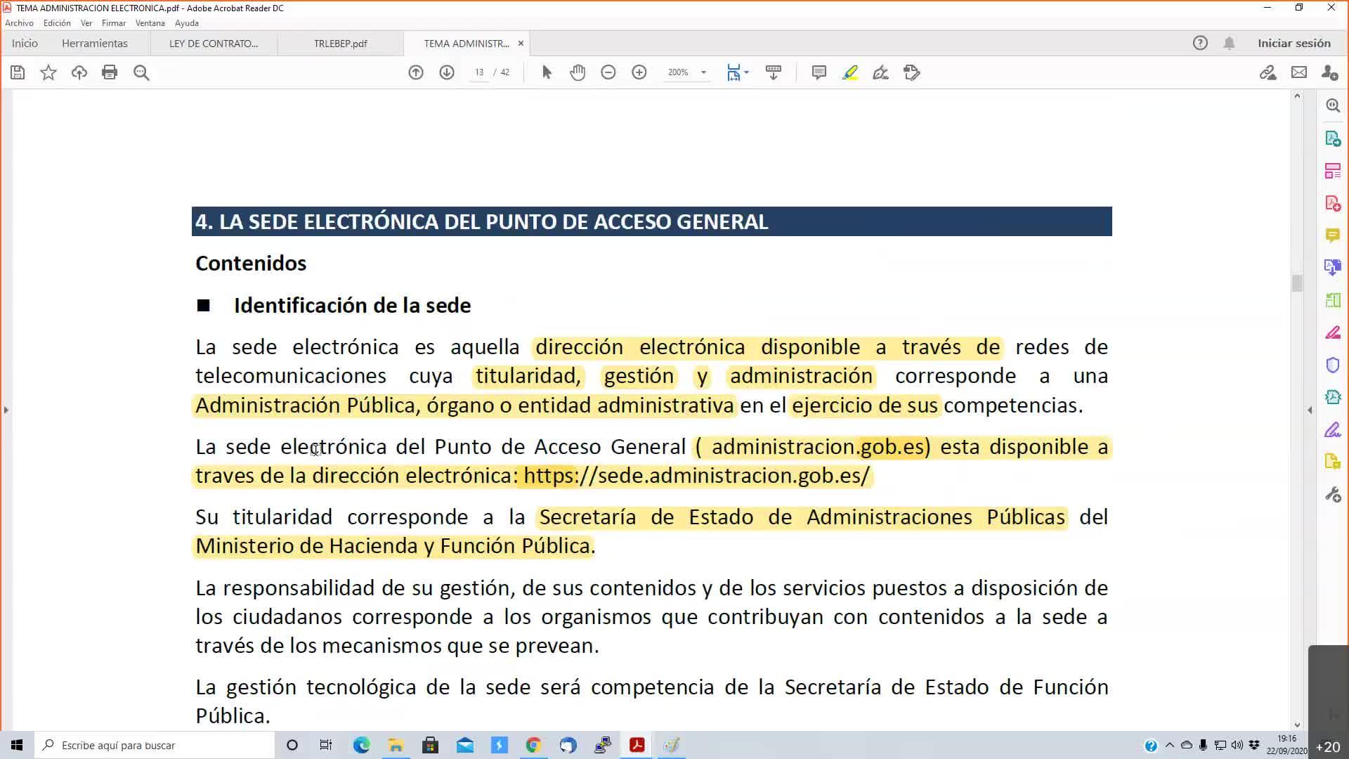 Oficinas públicas 22-09-2020
