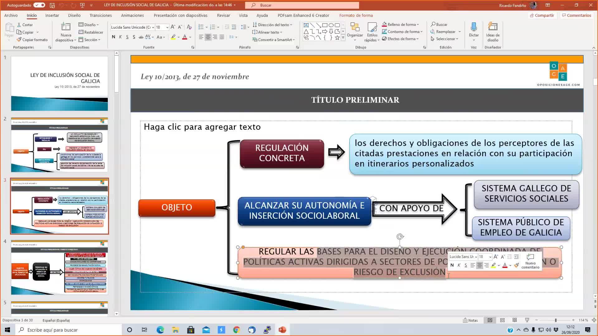 LEY INCLUSIÓN SOCIAL DE GALICIA