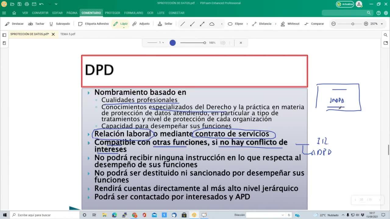 protección de datos 15-09-2021
